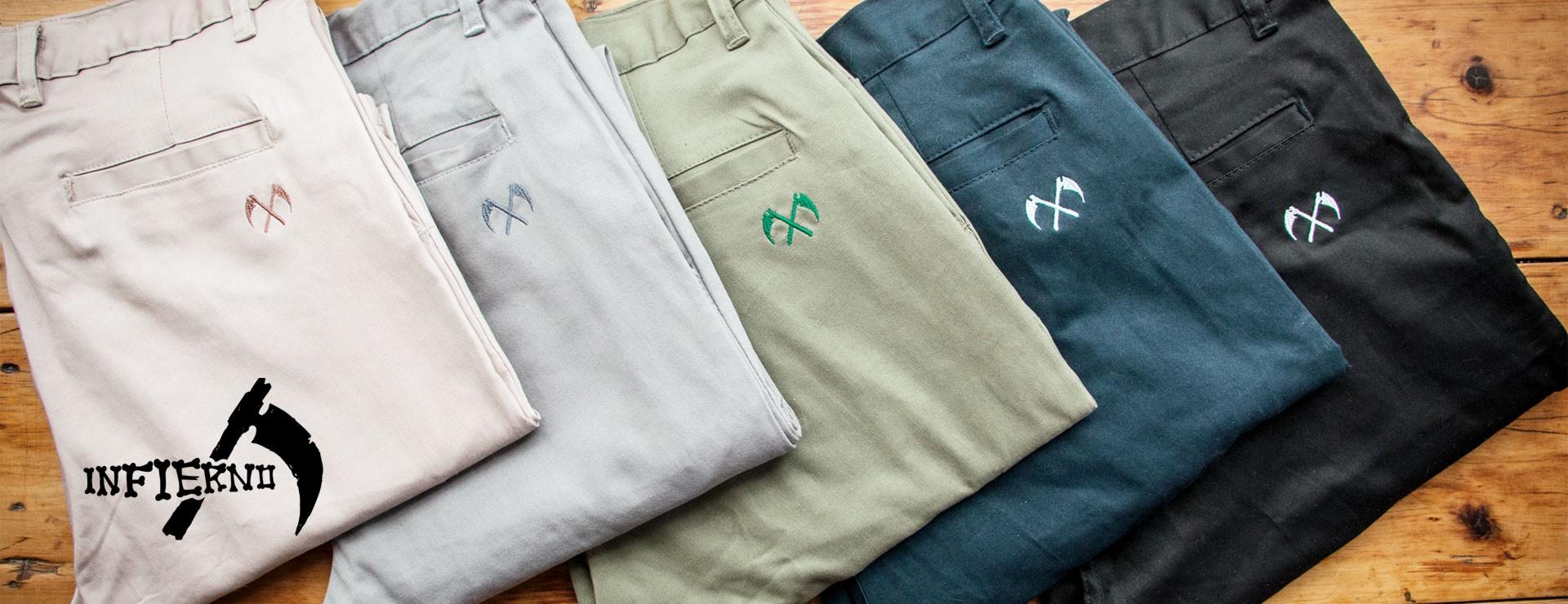 Nuevos pantalones Infierno